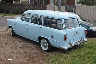 Holden FC - Image: 1958 Holden Standard (FC) station wagon (21488681725)
