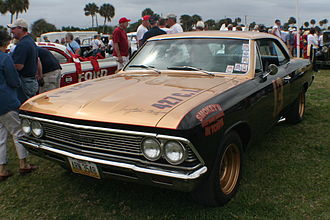 Curtis Turner - Turner's 1967 Daytona 500 racecar