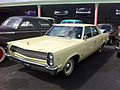 1967 Ambassador 990 4-d yellow Miami 01.jpg