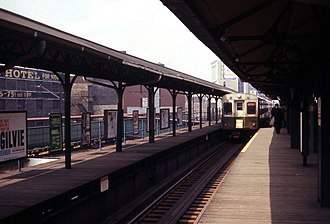 Wilson station (CTA) - The station in 1968