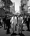 1972. Julio, 29. Rafael Caldera inaugurando la ampliación de la Refinería de Amuay.jpg
