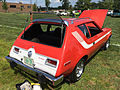 1974 AMC Gremlin X red with white stripes AMO 2015 meet 3of8.jpg