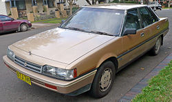 1985–1987 Mitsubishi Magna (TM) SE sedan