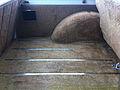 1986 Jeep Grand Wagoneer white-l Mason-Dixon Dragway 2014.jpg