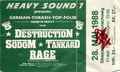1988-05-28 Destruction-Sodom-Tankard-Rage Braunschweig-Eissporthalle Concert-Ticket.png