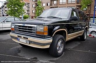 Ford Explorer - 1992 Ford Explorer Eddie Bauer