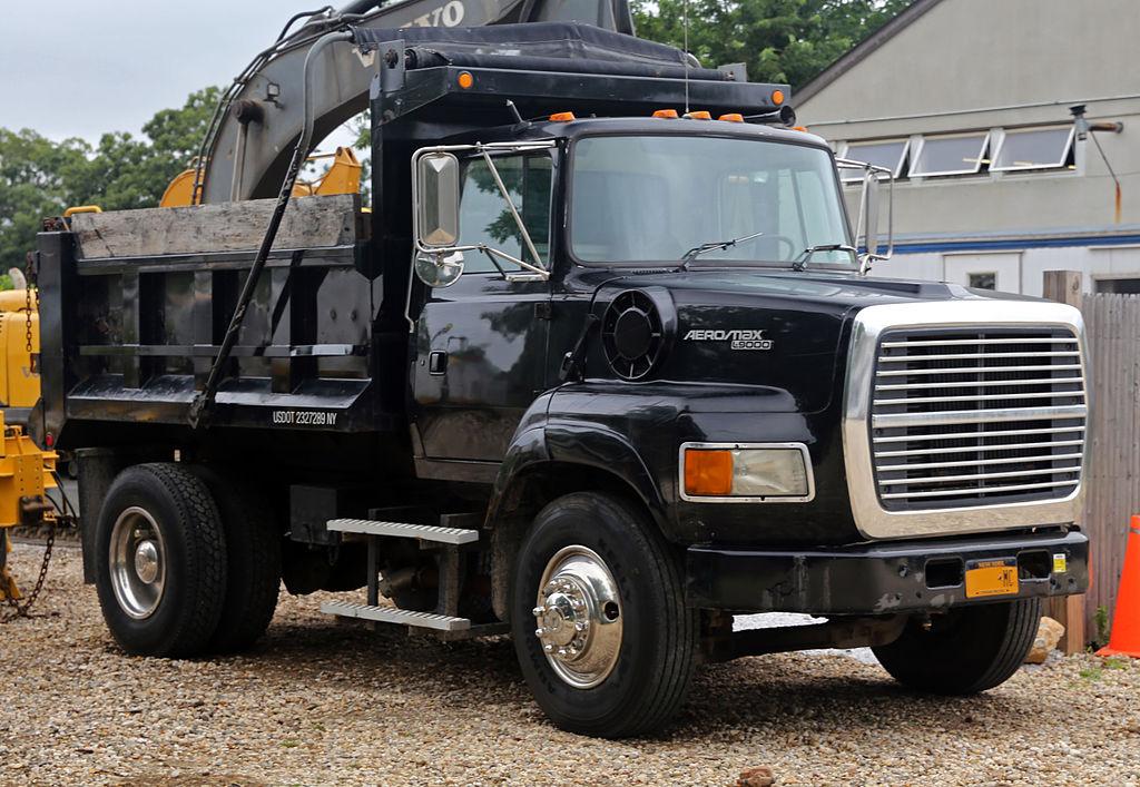 ford aeromax l9000 dump truck. Black Bedroom Furniture Sets. Home Design Ideas