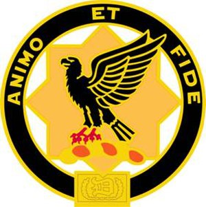 1st Cavalry Regiment (United States) - Image: 1Cav Regt DUI