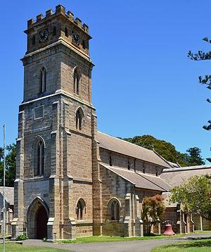Randwick, New South Wales - Image: 1 St Judes Church 11