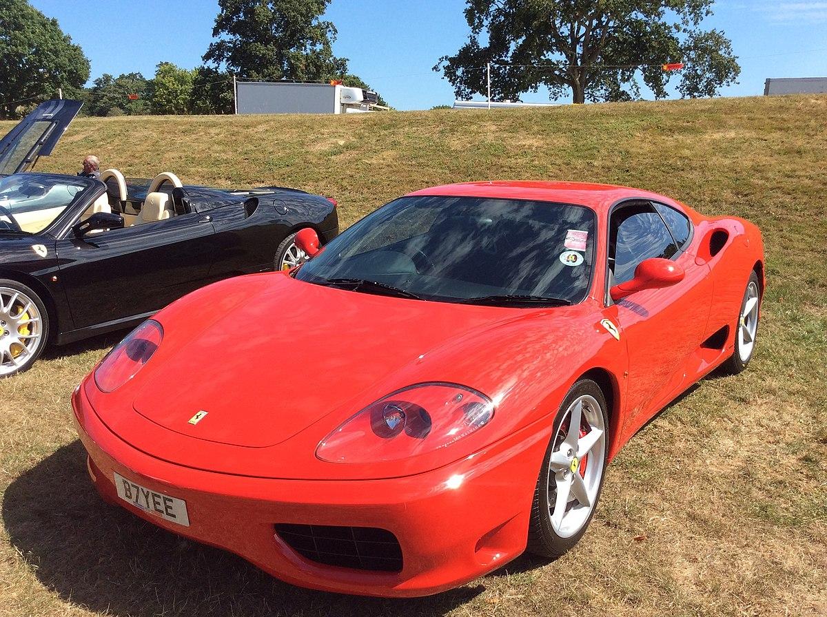 File 2001 Ferrari 360 Modena B7yee Jpg Wikimedia Commons
