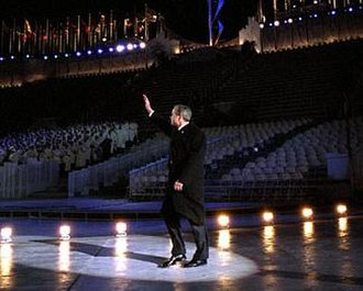 2002 Winter Olympics opening ceremony - George W. Bush at the Opening Ceremony