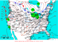 2005-12-23 Surface Weather Map NOAA.png