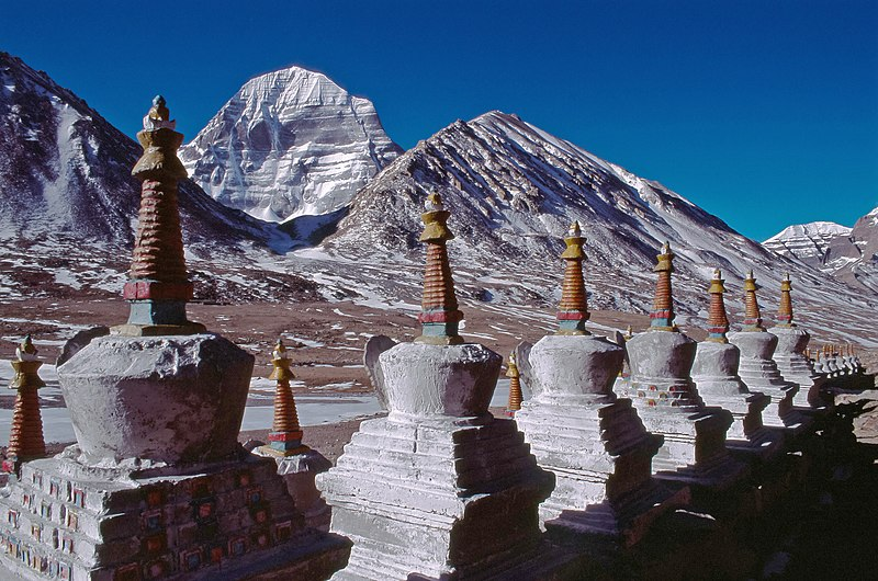 File:2005 Chortens and Kailash High reso.jpg