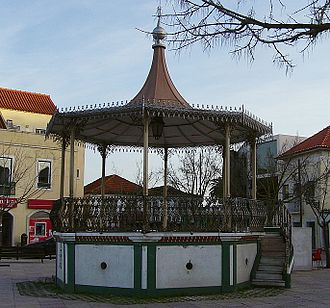 Amora (Seixal) - The historical bandshelter of Amora, inaugurated on 19 June 1907