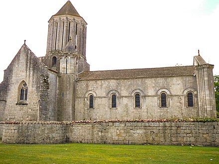 The church of Notre-Dame at Surgères