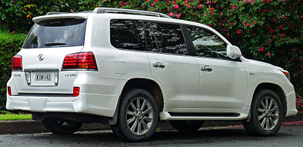 First Facelift Lexus Lx 570