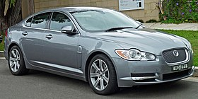 2009-2010 Jaguar XF (X250 MY10) Luxury sedan (2011-01-13).jpg