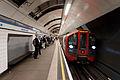 2009 Stock at Green Park tube station.jpg