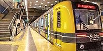 Underground railway.