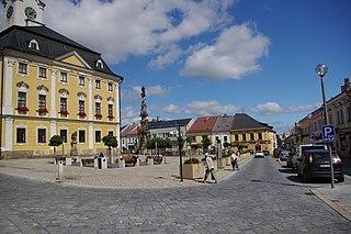 Polička Town in Pardubice, Czech Republic