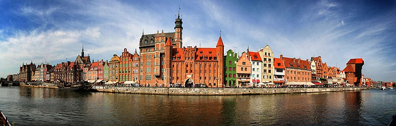 Panorama of Gdansk