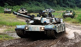 2012.9.12 육군 2기갑여단 K-1전차 기동훈련 Rep.of Korea Army 2nd Armored Brigade (7981327883).jpg