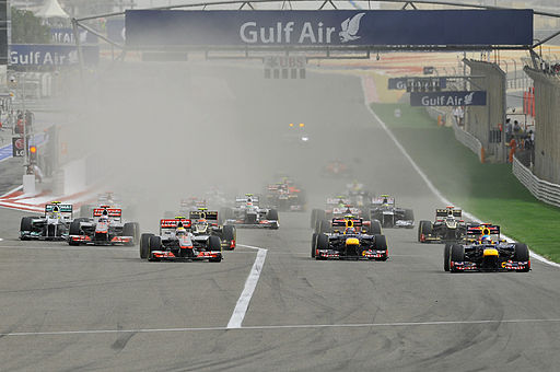 2012 Bahrain Grand Prix start 2