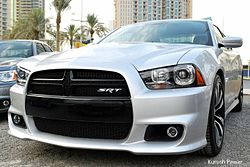 2012 Dodge Charger SRT8 (7375695738).jpg