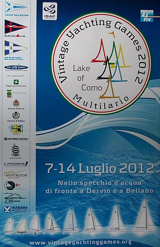 2012 Vintage Yachting Games - Poster of the 2nd Vintage Yachting Games