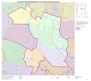 Massachusetts Senates 2nd Middlesex district state electoral district in Massachusetts, US