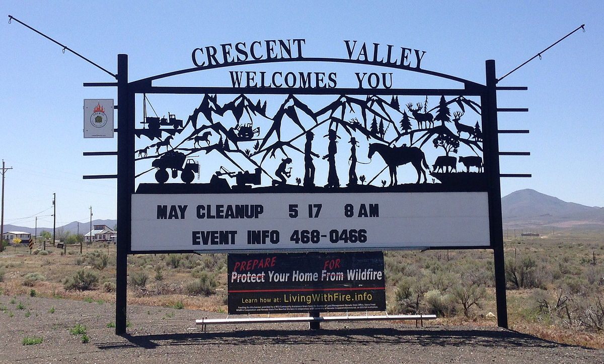 crescent valley nevada wikipedia