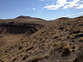 2014-07-18 16 33 24 View west-southwest from the north lip of the Lunar Crater, Nevada.JPG