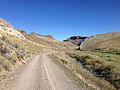 2014-09-25 10 31 33 View north along Rowland Road (Elko County Route 750) about 2.5 miles north of Gold Creek Road (Elko County Route 749) and Diamond A Road (Elko County Route 751) in Elko County, Nevada.JPG
