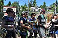 2014 Fremont Solstice parade - Yes Ma'am Brass Band 04 (14324135029).jpg