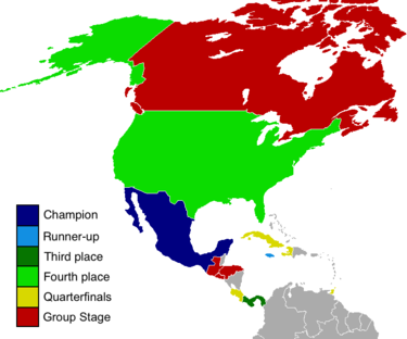 2015 concacaf gold cup wikipedia map of the participating nations gumiabroncs Images