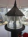 2015 Little Red Lighthouse annual tour (09) lantern and fresnel lens.jpg