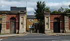 2015 London-Woolwich, Red Barracks wall 13