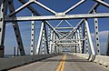 2016-07-22 11 02 19 View south along U.S. Route 301 (Governor Harry W. Nice Memorial Bridge) crossing the Potomac River from Charles County, Maryland to King George County, Virginia.jpg