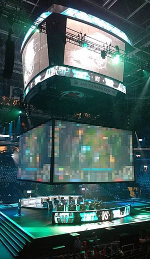 2016 Summer North American League of Legends Championship Series - The playoff stage for the third place match between  Immortals and Counter Logic Gaming.