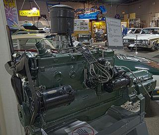 Oldsmobile straight-6 engine
