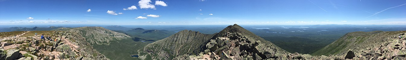 Mount Katahdin-Baxter Peak view