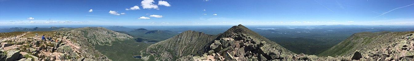 Mount Katahdin-Baxter Peak view