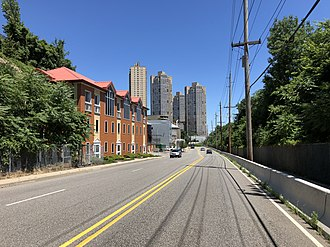 West New York, New Jersey - CR 505 (Anthony Defino Way) in West New York