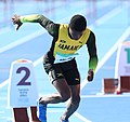 2018-10-16 Stage 2 (Boys' 400 metre hurdles) at 2018 Summer Youth Olympics by Sandro Halank–057.jpg