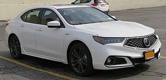 Acura TLX - Image: 2018 Acura TLX A Spec SH AWD front 4.27.18