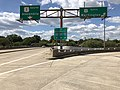 2019-09-18 14 02 50 View west at the west end of Virginia State Route 233 (Airport Viaduct) at U.S. Route 1 (Jefferson Davis Highway) in Crystal City, Arlington County, Virginia.jpg