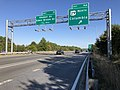 2019-09-25 16 14 16 View east along Maryland State Route 32 (Patuxent Freeway) at Exit 16A (U.S. Route 29 NORTH, Columbia) in Columbia, Howard County, Maryland.jpg