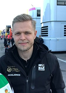 2019 Formula One tests Barcelona, Magnussen (32309895977).jpg