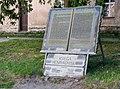 2019 Pomnik Księgi henrykowskiej w Henrykowie 2.jpg
