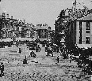 Scollay Square - Scollay Square, Boston, 19th century (after September 1880)